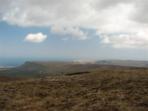 Views of Lurigethan and Glenarrif from Trostan, Co. Antrim