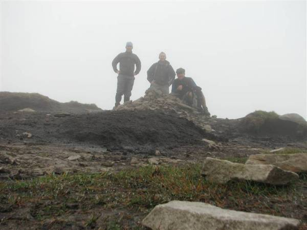 On the summit of Mweelrea Co. Mayo