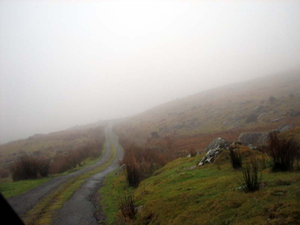 The road to Priest's Leap, Co. Cork